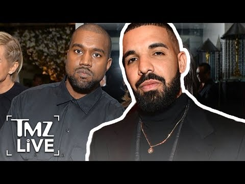 Kanye West At War With Drake | TMZ Live