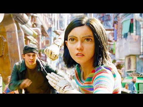 Behind The Scenes on ALITA BATTLE ANGEL - Movie B-Roll & Bloopers