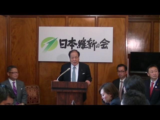 2017年3月8日(水) 天皇の退位等についての立法府の対応についての会合後の記者会見