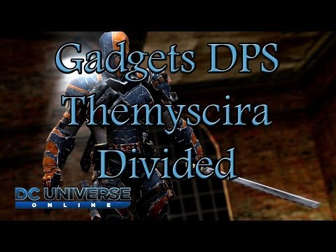 DCUO – Testing Gadgets DPS with WM agaisnt a Rage DPS in T6 Alert