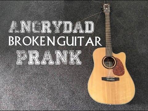 AngryDad breaks my guitar strings