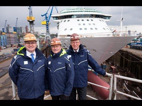 Traditions-Werft – Alles neu bei Blohm+Voss