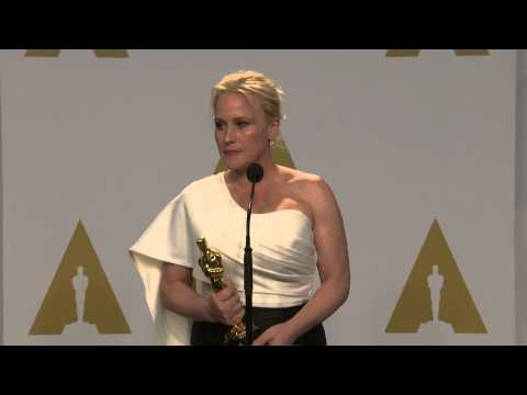 Oscars: Patricia Arquette Backstage Interview 2015