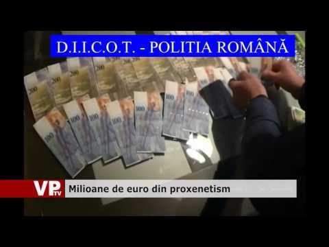 Milioane de euro din proxenetism
