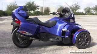 10. Used 2013 Can-Am Spyder RT Trike for sale