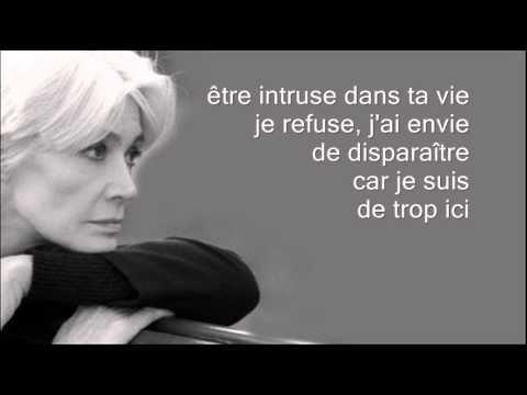 Je suis de trop ici - Françoise Hardy