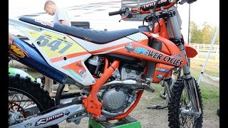 5. FMF 4.1 SOUND TEST ON 2018 KTM 250 SX-F