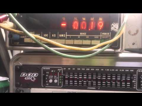 nixie tube volt meter part2 a look inside