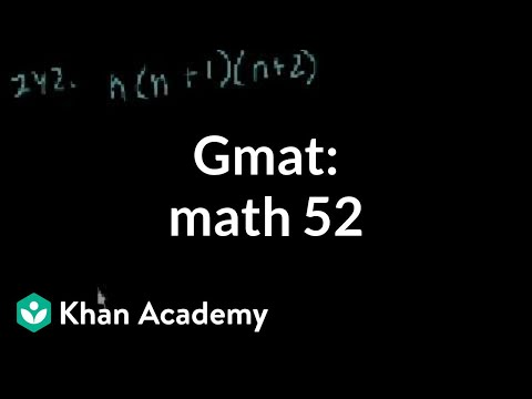 Gmat problem solving practice questions