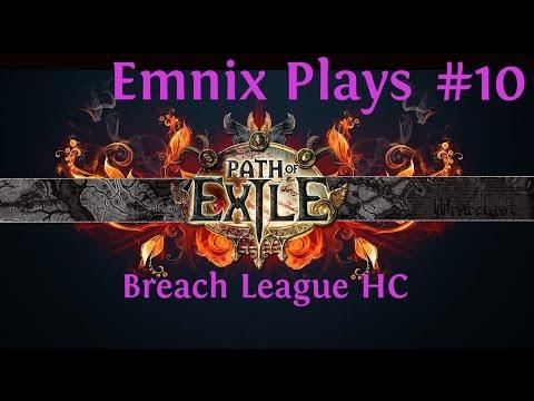 Let's Play: Path Of Exile - Breach League Hardcore - Satisfaction - Episode 10