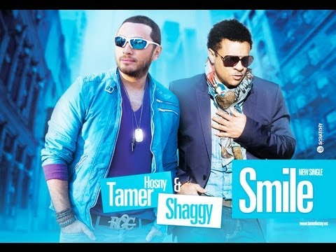 "Tamer Hosny Feat Shaggy ""smile"" - بدون بصمه تامر حسني و شاجي سمايل كامله"