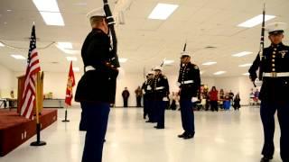 Marine Corps JROTC Ball -- Exhibition Drill Team