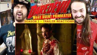 Marvel's DAREDEVIL: SEASON 3 | Meet Agent Poindexter - TRAILER REACTION!!!