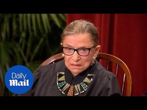 Supreme Court Justice Ruth Bader Ginsburg hospitalized after falling