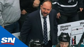 Tuukka Rask Cleverly Robs Sharks Of Breakaway So Bruins Can Score OT Winner by Sportsnet Canada