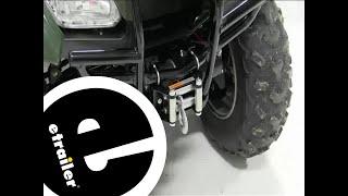 5. Installation of a Superwinch LT2000 ATV Winch on a 2011 Honda Rancher - etrailer.com