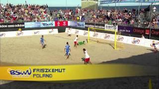 Top 5 Goals: Euro Beach Soccer League Sopot 2014
