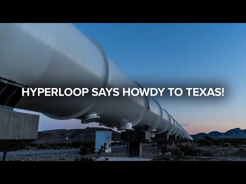 Texas to say HOWDY to the HYPERLOOP?!   Ride News Now