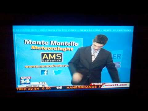 Local News Weather Man Live Blooper--Hilarious!