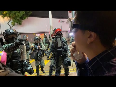 Χονγκ Κονγκ: Διαδηλώσεις και δακρυγόνα