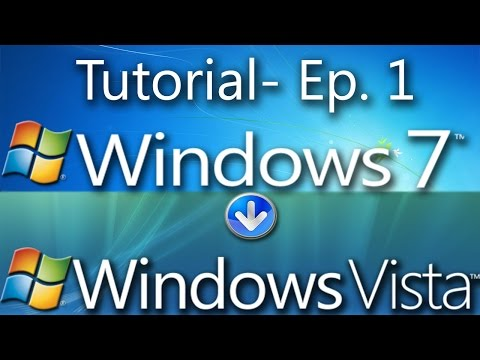 Tutorial: Windows 7 transformed to Windows Vista Episode One (OUTDATED)