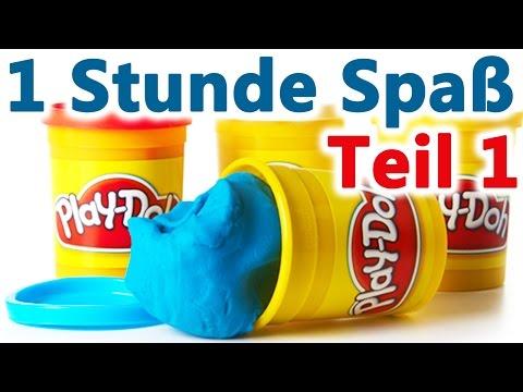 Play Doh Deutsch Knete   Mit KRÜMELMONSTER und CO.   Teil 1   Spiel mit mir Kinderspielzeug