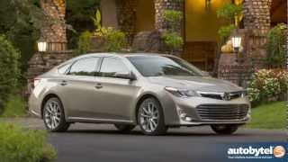 2013 Toyota Avalon XLE Test Drive&Full-Size Sedan Car Video Review