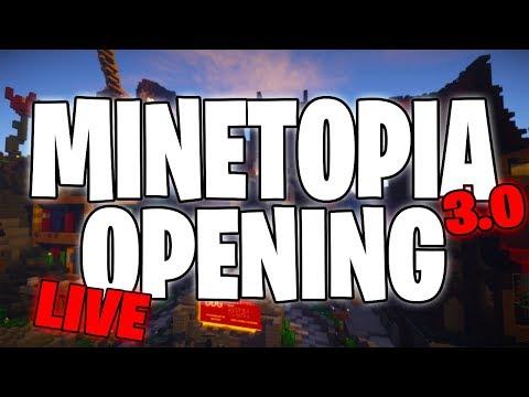 MINETOPIA 3.0 SERVER OPENING LIVE! GRATIS & ALLE SPOILERS! (DEEL 2)