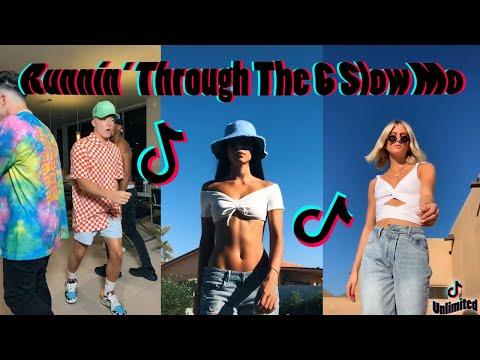 Runnin' Through The 6 Slow Mo Walk Trend - TikTok Compilation