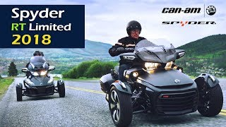 4. Can-Am Spyder RT Limited 2018