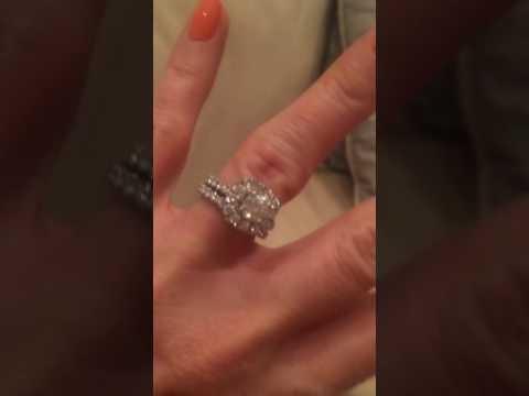 Neil Lane Platinum 2.31 carat wedding set