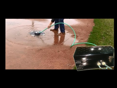 Turtledrain- Pumping Water off a Baseball Field the Easy Way