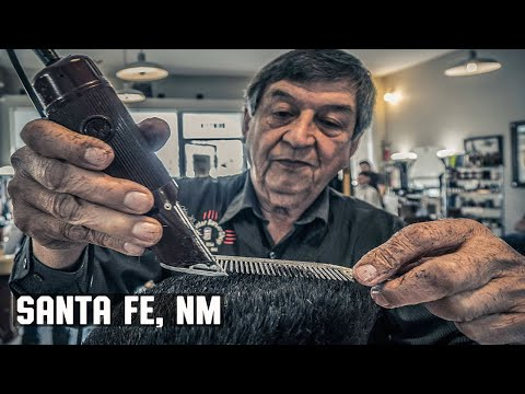 Haircut - Santa Fe New Mexico's Oldest and Only Traditional Barber Shop - The Center Barbershop