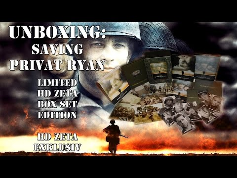 Unboxing - Saving Private Ryan -HD Zeta - Box - Set - HD Zeta Exklusiv