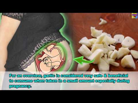 Garlic Is Very STRONG During Pregnancy, Here Is WHY It IS VERY Important.