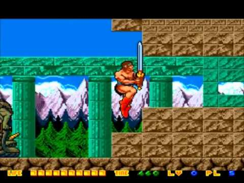 rastan saga 2 pc engine