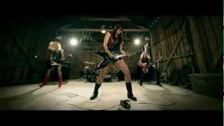 CRUCIFIED BARBARA - Rock Me Like The Devil (OFFICIAL VIDEO)