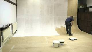 Time-Lapse of Vivid Photo Visual's infinity cove being painted