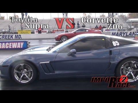 Toyota Supra vs. Corvette