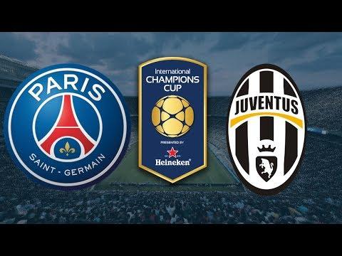 LIVE: PSG vs Juventus