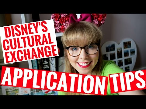 DISNEY CULTURAL EXCHANGE APPLICATION AND INTERVIEW TIPS