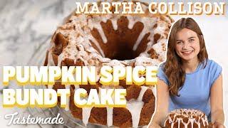 Pumpkin Spice Bundt Cake I Martha Collison by Tastemade