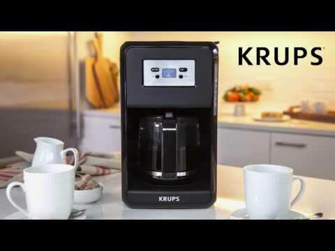 KRUPS EC311 Programmable Digital Coffee Maker