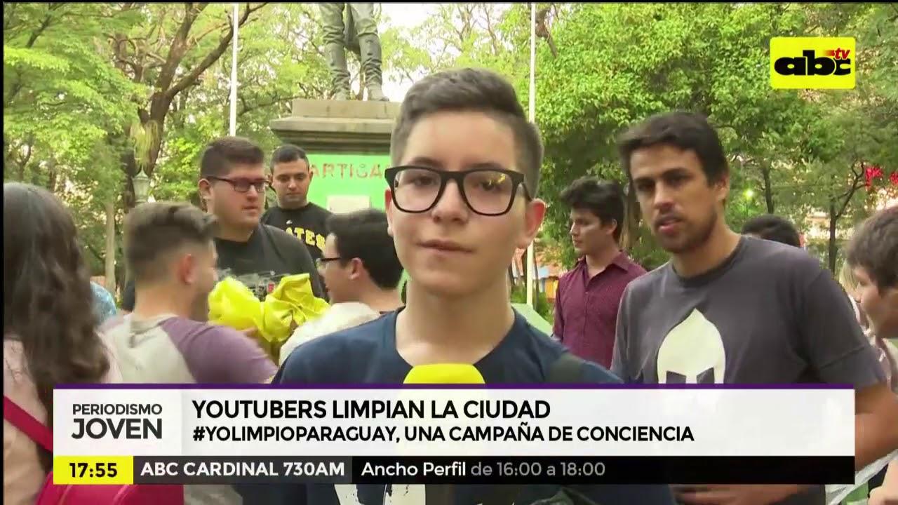 YouTubers y sus seguidores limpian la ciudad