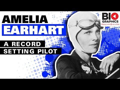 Amelia Earhart: A Record Setting Pilot