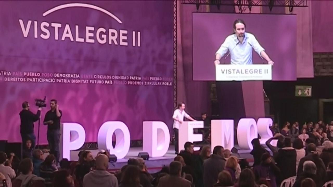 Σήμερα κρίνεται το μέλλον του Podemos στο συνέδριο του κόμματος