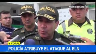 CON RETRATOS HABLADOS AUTORIDADES BUSCAN A ASESINOS DE DOS POLICÍAS EN CASANARE