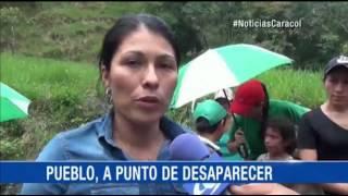 ALERTA POR FALLA GEOLÓGICA QUE ESTÁ DESTRUYENDO A UN PUEBLO EN CASANARE