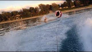 10. tubing behind seadoo wake 155