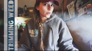 Fan Mail & Trimming Weed! // Vlog 02.02.17. by Silenced Hippie